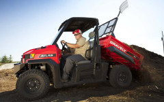 New Gravely vehicle for heavy-duty jobs on the farm